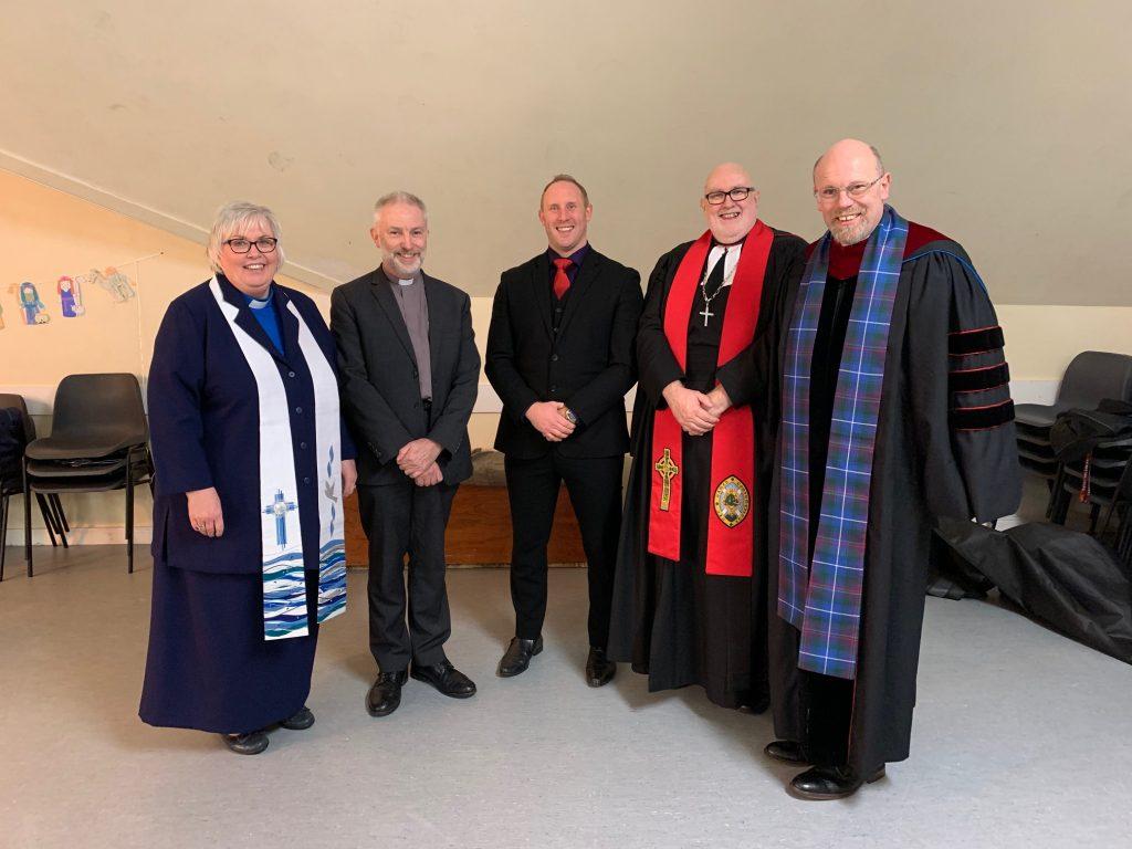 Rev Jonny Clipston induction