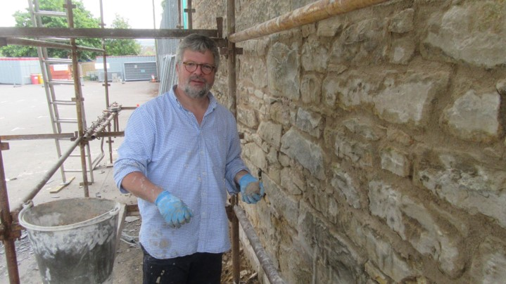 Local Minister diversifies his skills to work as a Building Officer for the Presbytery