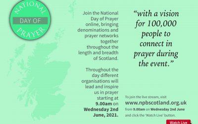 National Day of Prayer Wednesday 2nd June
