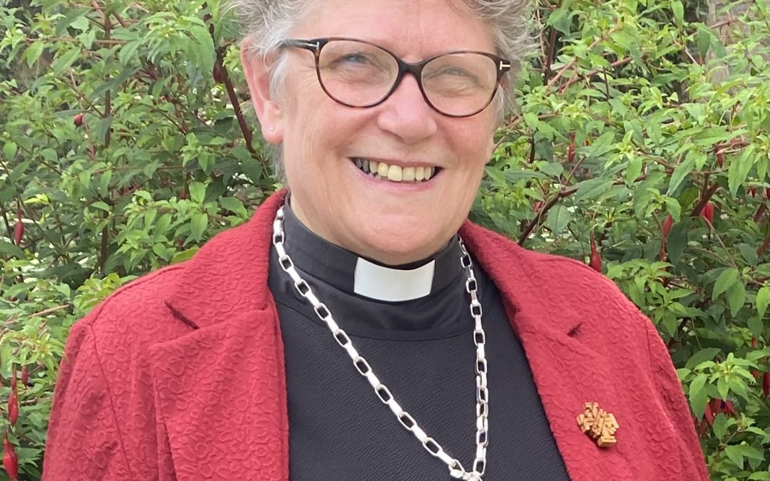Congratulations to our new Moderator for 2021-2023 Rev. Maggie Whyte
